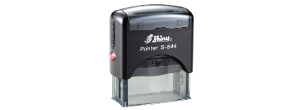 Shiny Self-Inking Stamps<br>4 to 5,000 impressions before re-inking