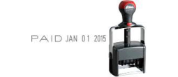 H-6770 - H-6770 Self-Inking Phrase and Date Stamp
