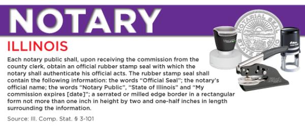 Illinois Notary