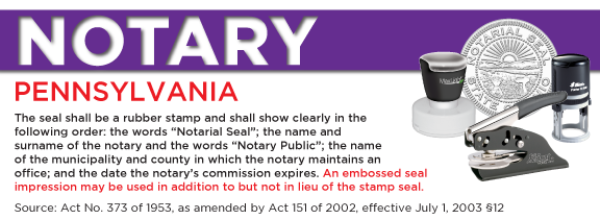 Pennsylvania Notary